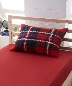 【日本製】綿100%艶感のあるチェック柄枕カバー(封筒式)(シャーロット) 枕カバー・ピローパッドの商品画像