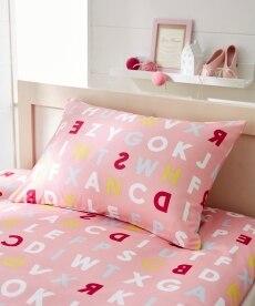 アルファベットプリント枕カバー(選べる2サイズ) 枕カバー・ピローパッドの商品画像