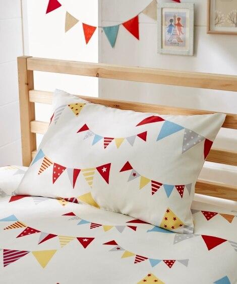 フラッグプリント枕カバー(選べる2サイズ) 枕カバー・ピロー...