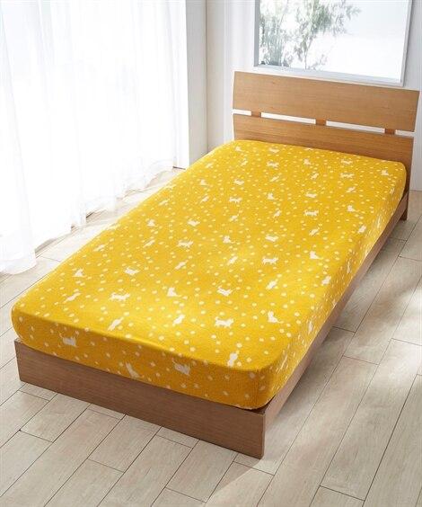 選べる4柄 ジャガード織りのびのびシーツ ベッドシーツ・敷布団カバー, Bedding Duvet Covers(ニッセン、nissen)