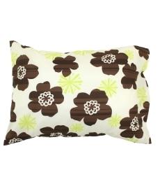 プリント枕カバー(北欧風フラワー柄) 枕カバー・ピローパッドの小イメージ