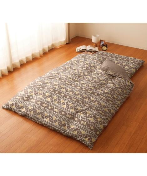 プリント掛け布団カバー(ソイル柄) 掛け布団カバー, Bed...