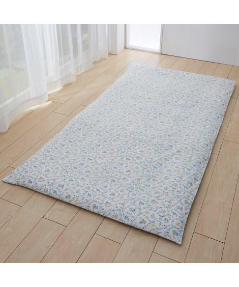 綿100%和式用敷カバー(敷布団用)(フラワー柄) 敷き布団...