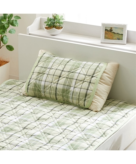 年中使えるオーガニックコットン100% ピローパッド 枕カバ...