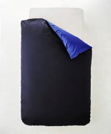 選べる7色ディープリバーシブルカラー 日本製綿100%シルクフィブロイン加工付掛け布団カバー 掛け布団カバーの商品画像