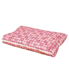 羽毛布団収納袋フラワーチェック柄 衣類カバー・圧縮袋の商品画像