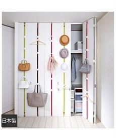 <ニッセン>ドアスペースを有効活用できる収納フック 衣類ハンガー画像