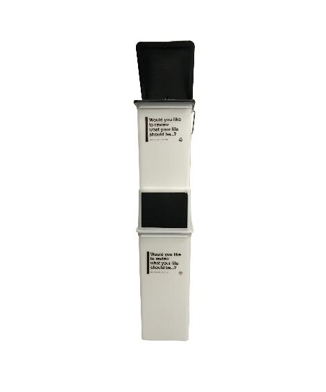 ビンテージカラーのダストボックスセット ゴミ箱・ダストボックスの写真