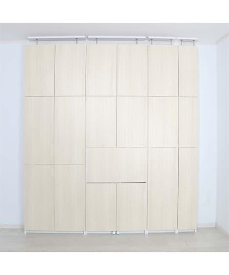 薄型19cm壁面収納 シェルフ・ラック...