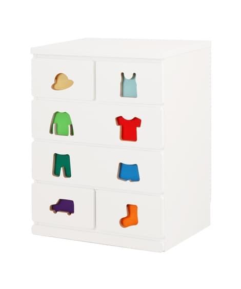 【日本製】お片付けしたくなる家具シリーズ おもちゃ・絵本収納...