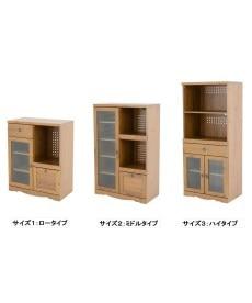 アンティーク調 レンジ台 レンジボード・家電ラックの商品画像