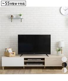 <ニッセン>コンビネーションカラーのデザインローボード テレビ台画像
