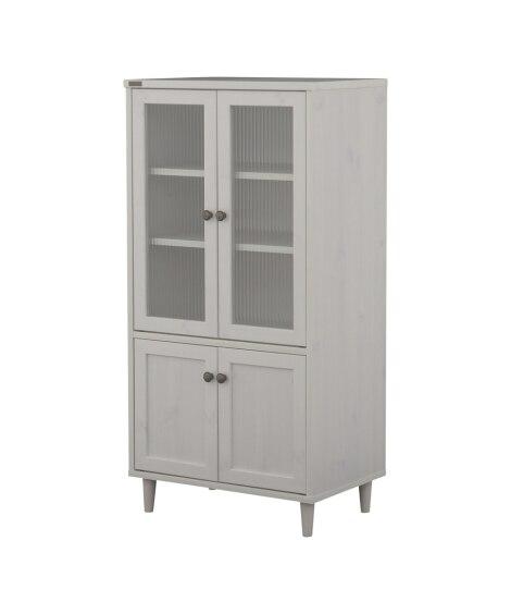 レトロモダンな開き扉のコンパクト食器棚 食器棚, Cupboards(ニッセン、nissen)