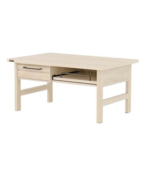 スライド棚。引き出し収納付きリビングテーブル ローテーブル・リビングテーブル, Tables(ニッセン、nissen)
