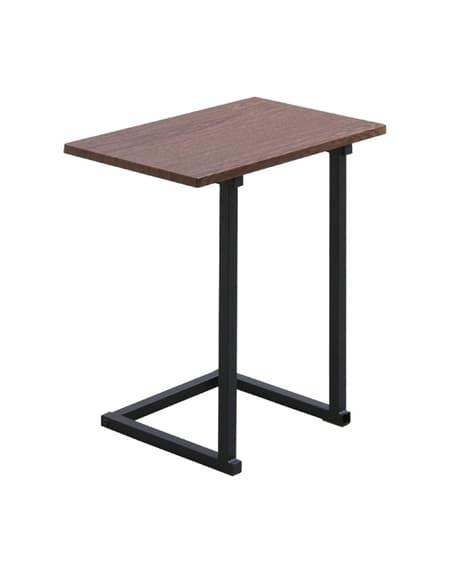 あると便利!な省スペース設計の木目調シンプルサイドテーブル ...