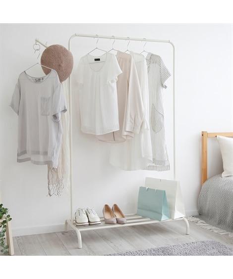 洗濯物を「干して」そのまま「着る」スタイルのハンガーラック2 ハンガーラック・ワードローブ, Clothes racks(ニッセン、nissen)
