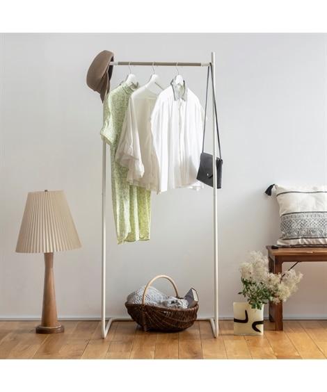 マットカラーのシンプルハンガーラック ハンガーラック・ワードローブ, Clothes racks(ニッセン、nissen)