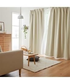 送料無料!<ニッセン>10色から選べる!1級遮光カーテン ドレープカーテン(遮光あり・なし) 27