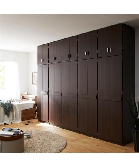 【荷造送料0円実施中】組み合わせが選べる壁面ワードローブシリーズ ハンガーラック・ワードローブ, Clothes racks(ニッセン、nissen)
