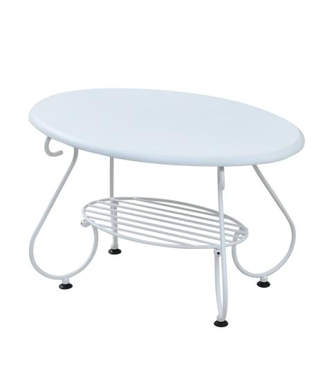 アンティーク風の棚付きローテーブル ローテーブル・リビングテーブル, Tables(ニッセン、nissen)