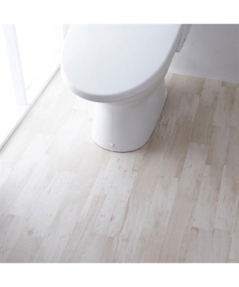 トイレ全面模様変えシート 木目調タイプ