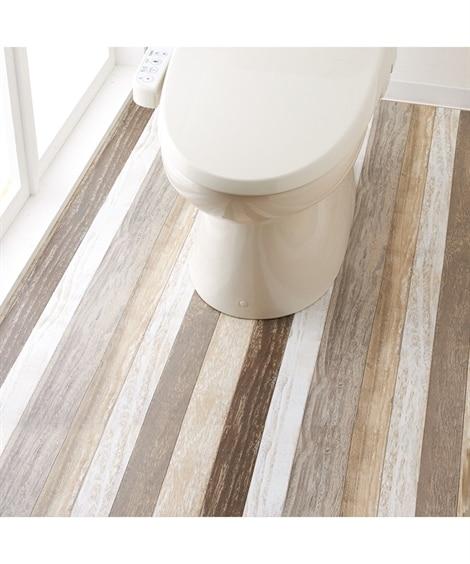 サッと拭ける トイレ全面模様替えシート 木目調タイプ トイレ...