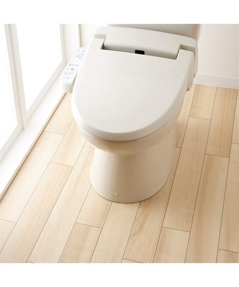 サッと拭ける トイレ全面模様替えシート 木目調タイプ(厚手)...