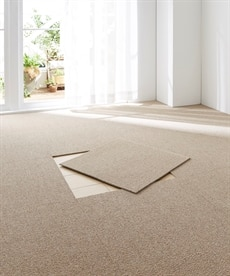 防音防炎タイルカーペット(16枚セット)日本製 ブラックフォーマルの商品画像