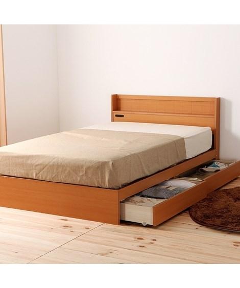 多サイズ展開ベッド 収納付きベッド(ニッセン家具)