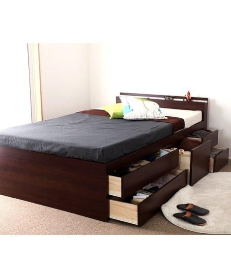 <ニッセン> 多サイズ展開ベッド 収納付きベッド 価格:50760円商品 11
