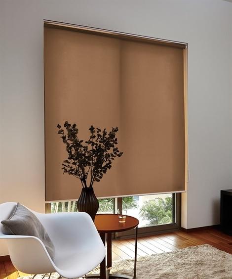 【1cm単位オーダー】しっかり生地感のある洗えるロールスクリーン(プルコードタイプ) ブラインド・ロールスクリーン・間仕切りの写真