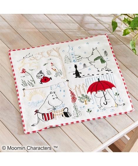 ムーミン タオルハンカチ(25×25)「空模様」 ハンドタオル・タオルハンカチ, Towels(ニッセン、nissen)