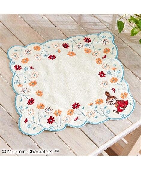 ムーミン タオルハンカチ(25×25)「花々」 ハンドタオル...