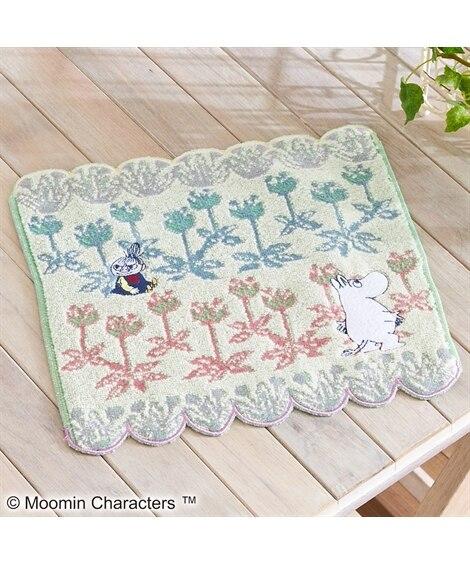 ムーミン タオルハンカチ(25×25)「ブルーミングメイズ」 ハンドタオル・タオルハンカチ, Towels(ニッセン、nissen)