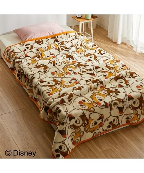 ディズニー 「ミッキーマウス/ミニーマウス/チップ&デール」選べる3柄あたたかニューマイヤー毛布 毛布・ブランケット, Beddings, 寝具(ニッセン、nissen)