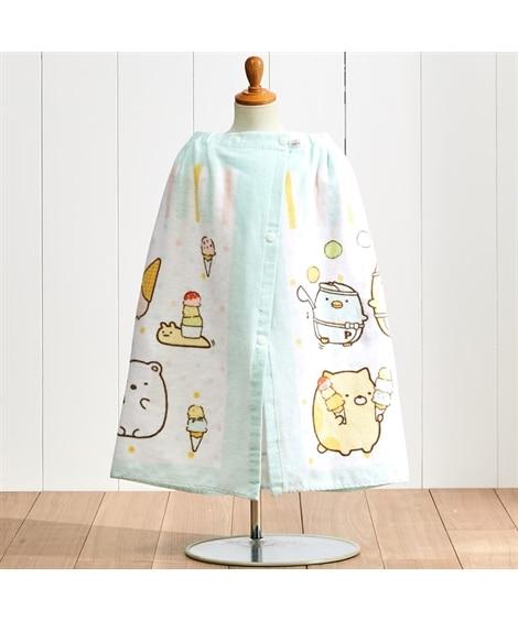 すみっコぐらし 60cm丈ラップタオル タオル, Towels(ニッセン、nissen)