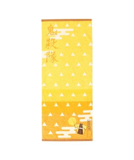 鬼滅の刃 フェイスタオル「我妻善逸」【抗菌防臭加工】 フェイスタオル, Towels(ニッセン、nissen)