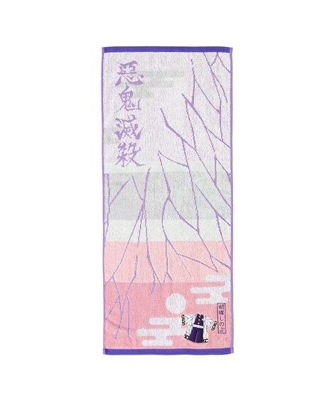 鬼滅の刃 フェイスタオル「胡蝶しのぶ」【抗菌防臭加工】 フェイスタオル, Towels(ニッセン、nissen)