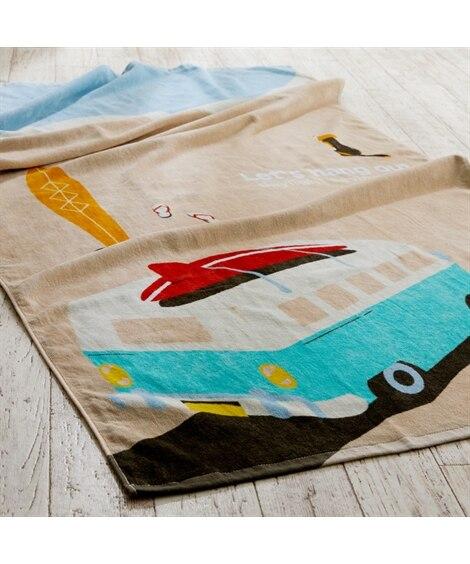 大判バスタオル(ビーチ) 150cm丈 タオル, Towels(ニッセン、nissen)