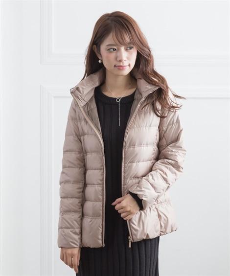 シンプルダウンジャケット(はっ水加工) 【レディース】ジャケ...