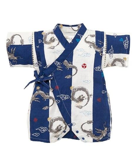 甚平カバーオール(男の子 子供服。ベビー服) 【ベビー服】