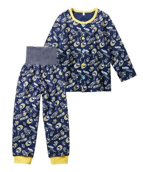 スムース腹巻付きパジャマ(男の子 ベビー服 子供服) キッズ...