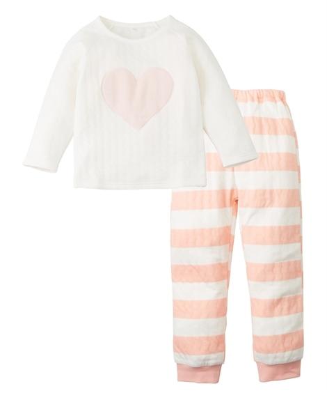ソフトキルトパジャマ(女の子 子供服) キッズパジャマ, P...