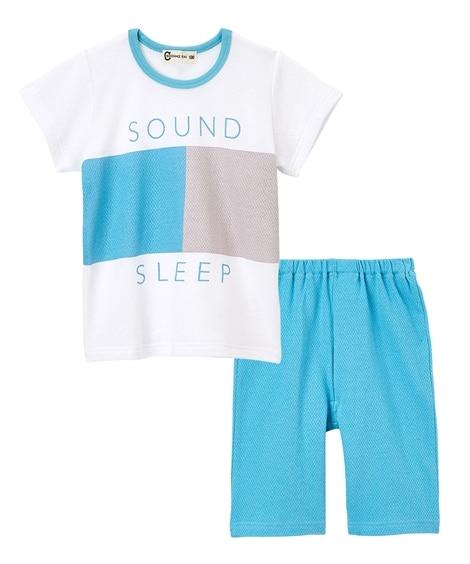ハニカムメッシュ半袖パジャマ(男の子 女の子 ベビー服 子供服) キッズパジャマ, Kids' Pajamas