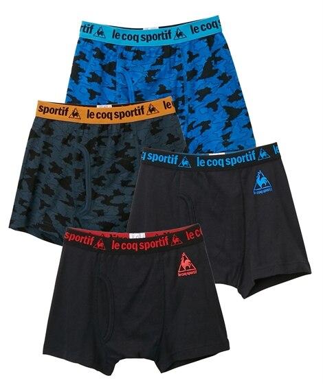 【ルコック】ボクサーパンツ4枚組(男の子 子供服。ジュニア服...