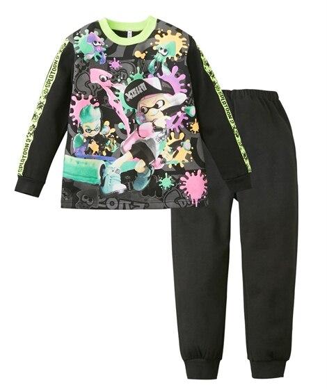 【スプラトゥーン2】光るパジャマDX(男の子 女の子 子供服 ジュニア服) キッズパジャマ, Kids' Pajamas