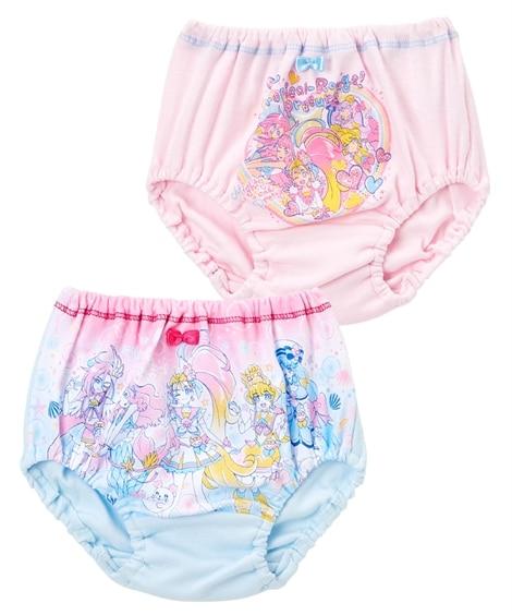 【トロピカル。ジュプリキュア】綿100%ショーツ2枚組(女の子 子供服) キッズ下着, Kid's Underwear