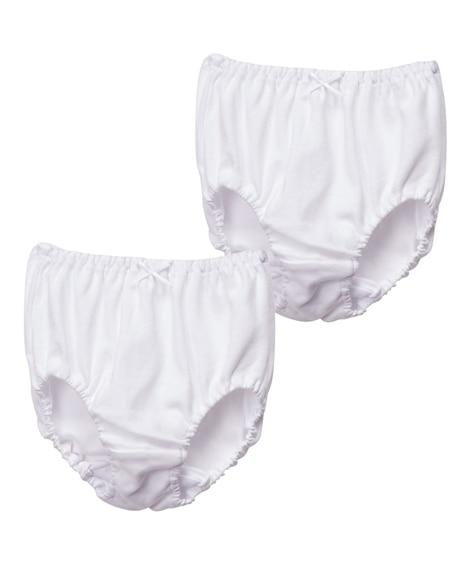 白無地ベーシックショーツ2枚組・前開きブリーフ2枚組(男の子・女の子 子供服・ジュニア服) キッズ下着, Kid's Underwear