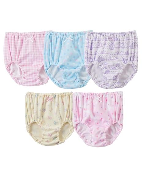 綿100%ショーツ5枚組(女の子 子供服・ジュニア服) キッズ下着, Kid's Underwear