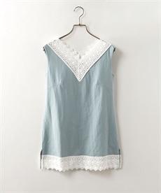 <ニッセン> 袖コンシャスプルオーバー (大きいサイズレディース)Tシャツ・カットソー 24